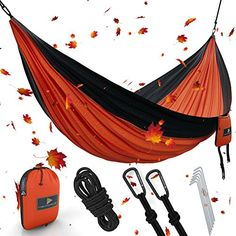 Best XL Double Camping Hammock Waterproof Lightweight Par...