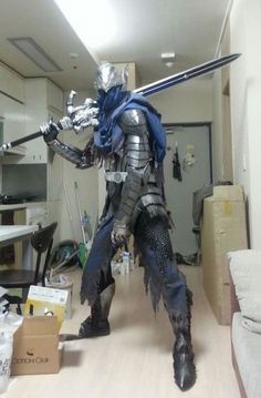 How To Build Armor Like Artorias Of The Abyss From Dark Souls (23 Pics)