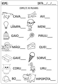 Criar Recriar Ensinar Learn To Read Kindergarten, Portuguese Lessons, Learn A New Language, Teaching Materials, Thing 1, Kids Learning, Professor, Activities For Kids, Homeschool