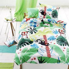 Jungle Playtime Leaf Bed Linen | Designers Guild