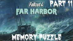 Fallout 4 Far Harbor Gameplay Walkthrough Part 11 Memory Puzzle