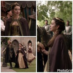 Mary's Purple and Gold Dress (with cloak) 3x05: In A Clearing