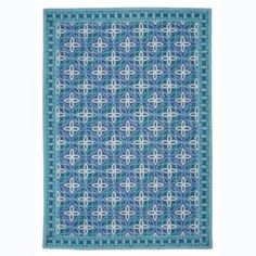 Garland Cerulean Blue Made By Company C - Rugs