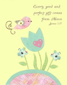 Baptism gift Children Spring Mothers Day by PeanutAndButtons, $15.00