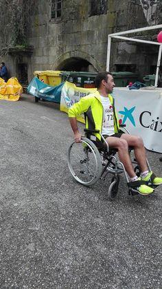 Un campeón más haciendo la Milla Solidaria Milla, Bicycle, Vehicles, Bike, Bicycle Kick, Bicycles, Car, Vehicle, Tools