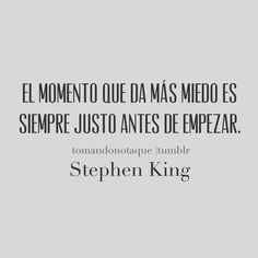 The moment I fear the most is always just before I begin. #frases de motivación  #citas  #reflexiones