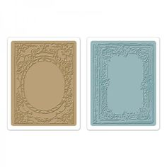 New embossing folders!! Book & Cover Set Texture Fades Sizzix Tim Holz #scrapbooking