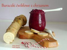 Gotuj zdrowo!Guten Appetit!: Buraczki ćwikłowe z tartym chrzanem Polish Recipes, Polish Food, Hot Sauce Bottles, Dips, Pudding, Easter, Vegan, Dining, Vegetables