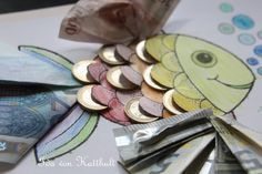 Idas Bloghaus: DIY Geldgeschenk für einen Angler