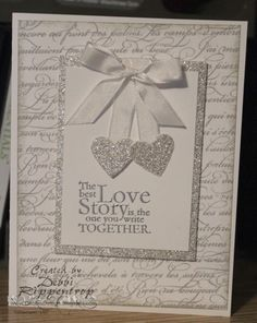 Sparkly Wedding by Motherof6 - Cards and Paper Crafts at Splitcoaststampers