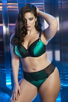 2fa055f1f87c0 Ritz Collection - Ashley Graham Showstopper with Matching Thong Asley Graham