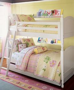 Bunk Beds- love the book shelves, doing this one!