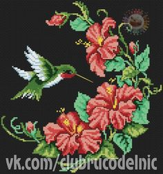 Hummingbird - cross stitch pattern by Dimensions Cross Stitch Pillow, Cross Stitch Needles, Cross Stitch Bird, Cross Stitch Borders, Cross Stitch Animals, Cross Stitch Flowers, Cross Stitch Designs, Cross Stitching, Cross Stitch Embroidery