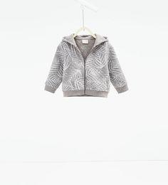 ZARA - KINDER - Gestepptes Sweatshirt mit Palmen