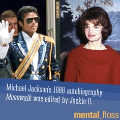 What?!  Michael Jackson's autobiography was edited by Jackie O. | Mental Floss
