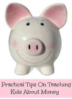 Practical Tips on teaching kids about money http://mamato5blessings.com/2014/08/kids-can-save-money-wikki-stix-piggy-banks/
