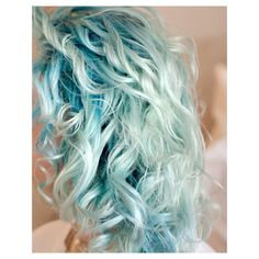Baby Blue Hair Tumblr ❤ liked on Polyvore featuring hair, pictures, blue, hairstyles, backgrounds and filler