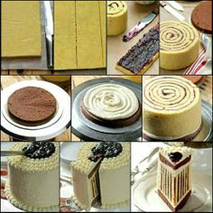 Diseño elegante dentro de tu pastel.
