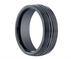 King Will Tungsten Ring 8mm Black Groove Center Matte Finish Unisex Wedding Engagement Band Matte Finish(13) King Will http://www.amazon.com/dp/B00LEC45IG/ref=cm_sw_r_pi_dp_IkyMvb13S8M3Y
