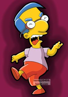 "Milhouse Van Houten from ""The Simpsons"""