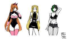 Character Inspiration, Character Art, Character Design, Character Education, Cartoon Styles, Cartoon Art, Princesas Disney Zombie, Super Nana, Ppg And Rrb