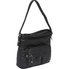 Here's another black shoulder bag that I like