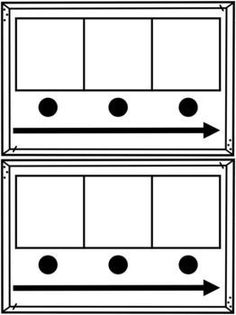 Sound Boxes- 3 and 4 sound Elkonin Boxes Phonological Awareness Activities, Phonics Activities, Work Activities, Phonics Reading, Teaching Reading, Kindergarten Classroom, Kindergarten Guided Reading, Kindergarten Literacy Centers, Reading Intervention Classroom