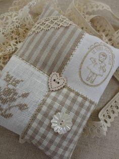 Steekjes & Kruisjes (cross stitch on patchwork)