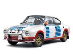 40 years ago: double victory for the ŠKODA 130 RS at the Rallye Monte Carlo - ŠKODA Motorsport Monte Carlo, Skoda Rs, Sport Cars, Race Cars, Foto Zoom, Skoda Fabia, Small Cars, Rally Car, 40th Anniversary