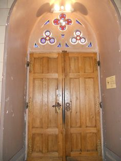 Another Hohenzollern Castle Chapel door. Germany