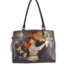Icon Shoes & Handbags - Art printed Leather Handbags Since Icon Shoes, Pierre Auguste Renoir, Leather Handbags, Dance, Tote Bag, Purses, Classic, Fashion, Handbags