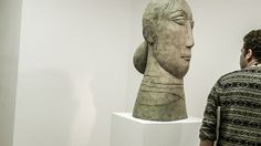head by olivia-musgrave at the john-martin-gallery-london
