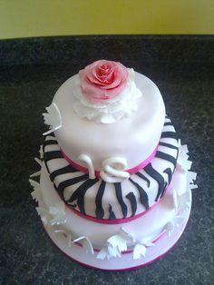 birthday cakes for girls eighteen birthday | Girly 18th birthday cake | Flickr - Photo Sharing!