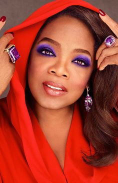 Who is challenging Oprah as the most successful female celebrity?
