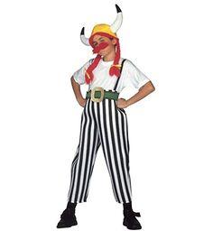 Gallier-Kostüm für Jungen, Obelix Asterix