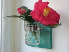 Rustic Wall Vase Wedding Decor Home Decor by MagnoliaMayLane, $10.00