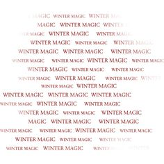 WINTER MAGIC by_Mago74 WA (1).png ❤ liked on Polyvore featuring words, text, winter, quotes, christmas, phrase and saying