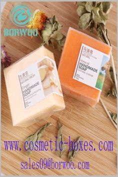 Printed paper labels are used for soap. The use of specific label printing content can play a role in ordering and explaining the product. Blister Packaging, Perfume Packaging, Bottle Packaging, Print Packaging, Packaging Design, Cosmetic Labels, Cosmetic Box, Cosmetic Packaging, Cardboard Boxes With Lids