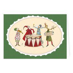Weihnachts - Doppelkarte Silke Leffler / KLK 15310