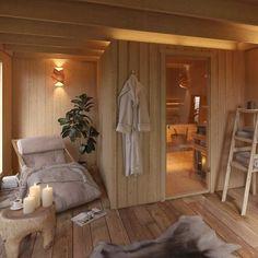 Trendy home gym sauna house ideas Basement Sauna, Sauna Room, Basement Ideas, Sauna Steam Room, Home Spa Room, Spa Rooms, Saunas, Sauna Diy, Clearlight Sauna