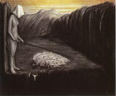 Alfred Kubin - Of Human Fate Des Menschen Schicksal III ca.1902-03
