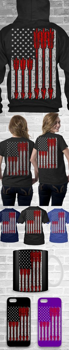 Bow Hunting USA Flag Shirts! Click The Image To Buy It Now or Tag Someone You Want To Buy This For.  #bowhunting