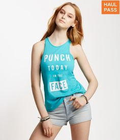 Punch In The Face Tank