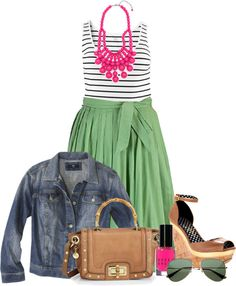 Summer Skirt - Plus Size