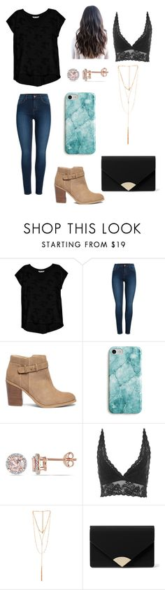 """""""Cute Lets Go Hang Out Outfit"""" by onlyforbeauty on Polyvore featuring Bobeau, Pieces, Sole Society, Recover, Allurez, Topshop, Ettika and MICHAEL Michael Kors"""