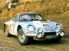 1970 ACROPOLIS RALLY - Renault Alpine A110 1300. Drivers: Jean-Pierre Nicola / Veron Michèle.