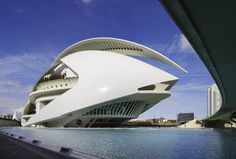 Simply amazing. The opera house in Valencia. Built by Calatrava. Possibly my favorite structure of all time.