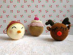 Jour 24 : Diy boules de Noël au crochet