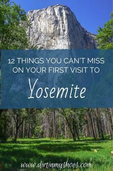 Yosemite National Park is one of the most beautiful places in California, and should be on everybody's bucket lists!  Planning an itinerary for your family vacation can be a challenge though, that is why I'm sharing this list of 12 things to do in Yosemite.  Whether you are hiking with kids, camping with families, or are on a solo photography adventure this list will give you the tips you need to do the best hikes and make the most of your road trip! Don't miss #6! Beautiful Places In California, Beautiful Places In America, Beautiful Places To Visit, Cool Places To Visit, California National Parks, Yosemite National Park, Hiking With Kids, Best Hikes, Amazing Destinations