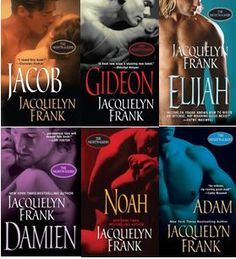 The Nightwalkers series by Jacquelyn Frank    reading order at: http://paranormalromancereads.com